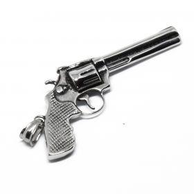 Přívěsek z chirurgické oceli Revolver