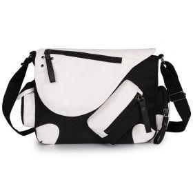 Crossbody UNISEX taška přes rameno Black and White