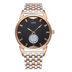 Yazole Luxury pánské elegantní hodinky 405 Zlaté