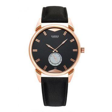 Yazole Luxury pánské hodinky 405 Zlaté