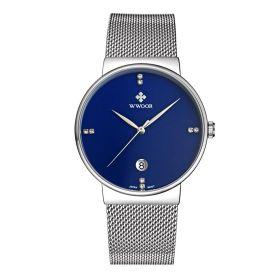 WWOOR pánské hodinky s datumovníkem Shain Elegance