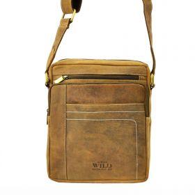 Always Wild pánská kožená taška TANCODE