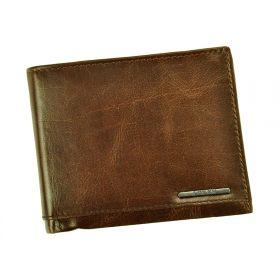 Loren pánská kožená peněženka Musee Hnědá