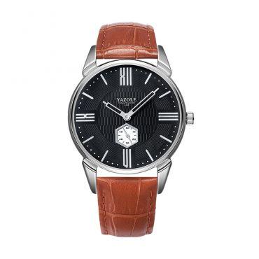 Yazole Pánské elegantní hodiniky Hexagon