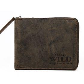 Always Wild pánská kožená peněženka Italy