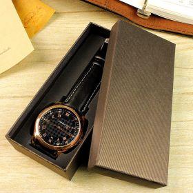 Dárková krabička na hodinky - Hnědá