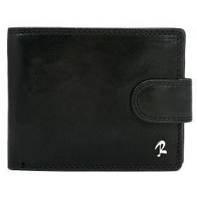 Loren pánská kožená peněženka GANW Černá