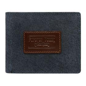 Forever Young pánská kožená peněženka Navy