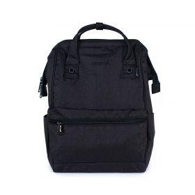 Himawari městský batoh USB port NR3 Černý
