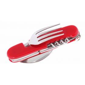 Multifunkční kapesní nůž - příbor 6v1