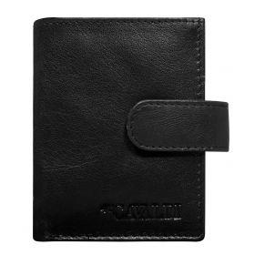 Cavaldi kožená peněženka na doklady Černé