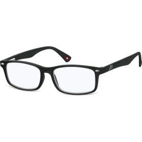 Antireflexní brýle na počítač bez dioptrii MX83 Černé