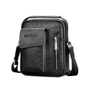 MUGAR pánská taška přes rameno Černá
