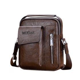 MUGAR pánská taška přes rameno hnědá Small