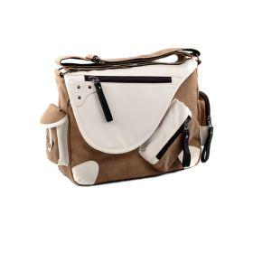 Crossbody UNISEX taška přes rameno Black and Brown