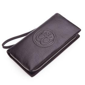 Pánská kožená peněženka Anchorum Hnědá