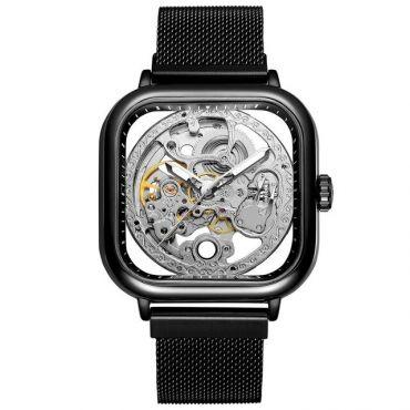 FORSINING pánské hodinky Future FSGM4B2 Černé