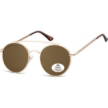 Montana polarizační sluneční brýle Hipster Hnědé MP84C