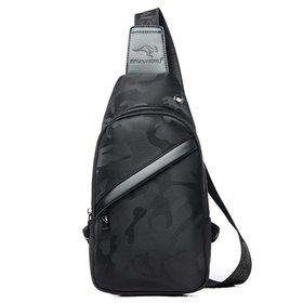 Pánská taška přes hruď a crossbody Taylor Černá