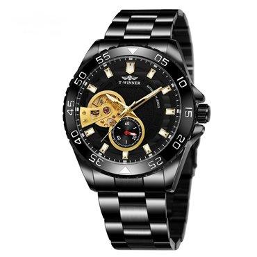 T-Winner pánské automatické hodinky Adventurer M4T4 Černé