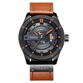 Pánské hodinky CURREN 8301 Snappy Orange