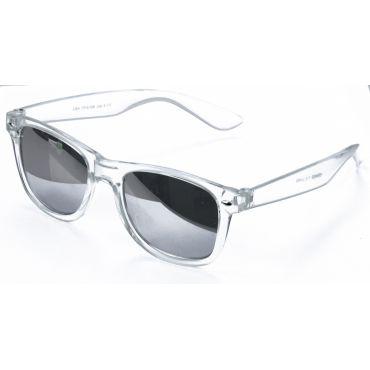 Deep sluneční brýle wayfarer Transparentní zrcadlovky