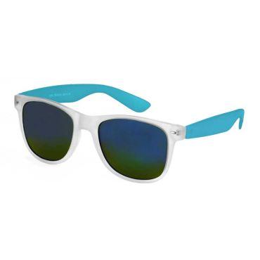 Deep sluneční brýle wayfarer Modré polo zrcadlovky