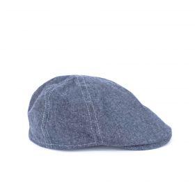 Pánský baret se kšiltem Denim Modrý