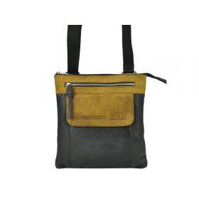 Always Wild pánská kožená taška Paolo Černá