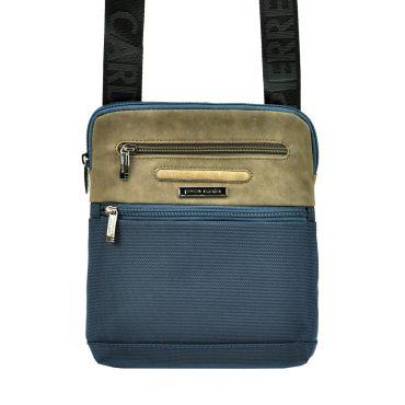 Pierre Cardin pánská taška přes rameno Alessio Modrá