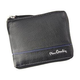 Pierre Cardin pánská kožená peněženka SAHTIL Modrá