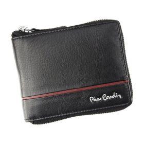 Pierre Cardin pánská kožená peněženka SAHTIL Červená