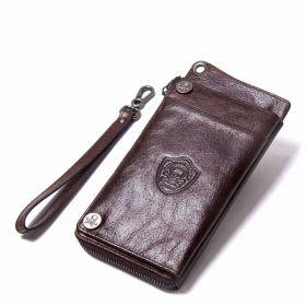 Contacts® pánská kožená peněženka do ruky Ghoster