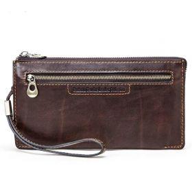 Contacts® pánská kožená peněženka do ruky Calister