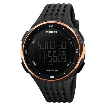 SKMEI 1219 sportovní hodinky RunFun Rose Gold