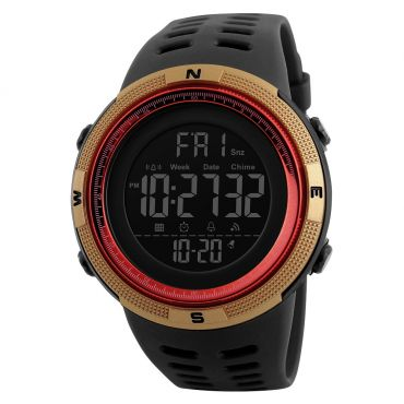 SKMEI 1251 sportovní hodinky Conquer Zlato-červené