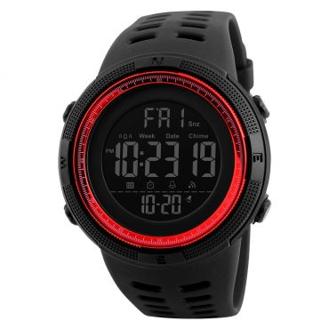 SKMEI 1251 sportovní hodinky Conquer Červené
