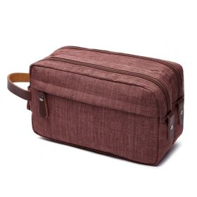 Toaletní kosmetická taška Carry Up Hnědá
