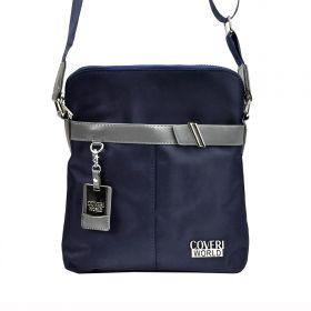 Coveri World pánská taška přes rameno Garry Modrá