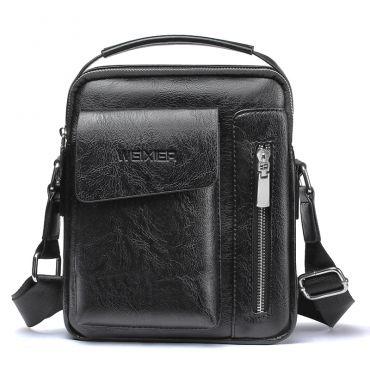 WEIXIER pánská taška přes rameno Alejandro černá