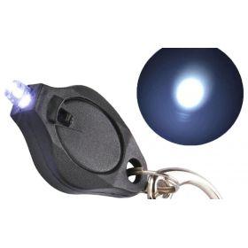 Survival přívěšek na klíče Led baterka Černá