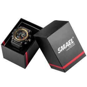 SMAEL dárková krabička na hodinky Černá