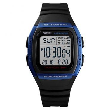 SKMEI 1278 digitální hodinky Retro Age - Modré