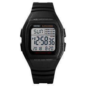 SKMEI 1278 digitální hodinky Retro Age - Černé