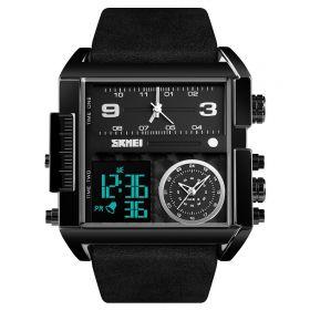SKMEI 1391 duální hodinky 3 times Black Edition