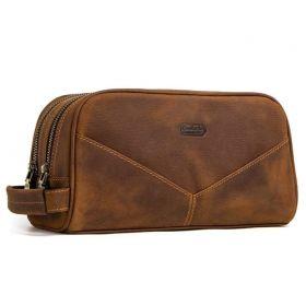 Contacts® pánská kožená cestovní kosmetická taška Horse