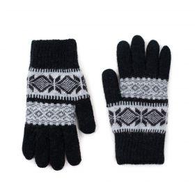 ArtOfPolo Pánské rukavice Sorbo Černé
