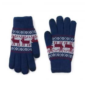 ArtOfPolo Pánské rukavice Sztokholm Modré