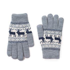 ArtOfPolo Pánské rukavice Sztokholm Šedé