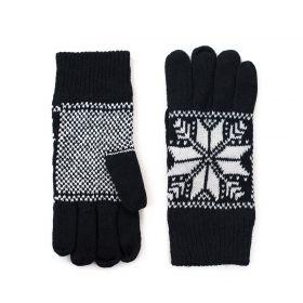 ArtOfPolo Pánské rukavice Malmo Černé